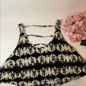 Forever 21 Crop Tank Top Size Small